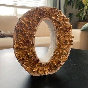 """Decorative """"O"""" letter from Michaels"""